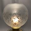 70 mm - Kupa 10''' klotformad ornamenterad (Kupa till fotogenlampa)