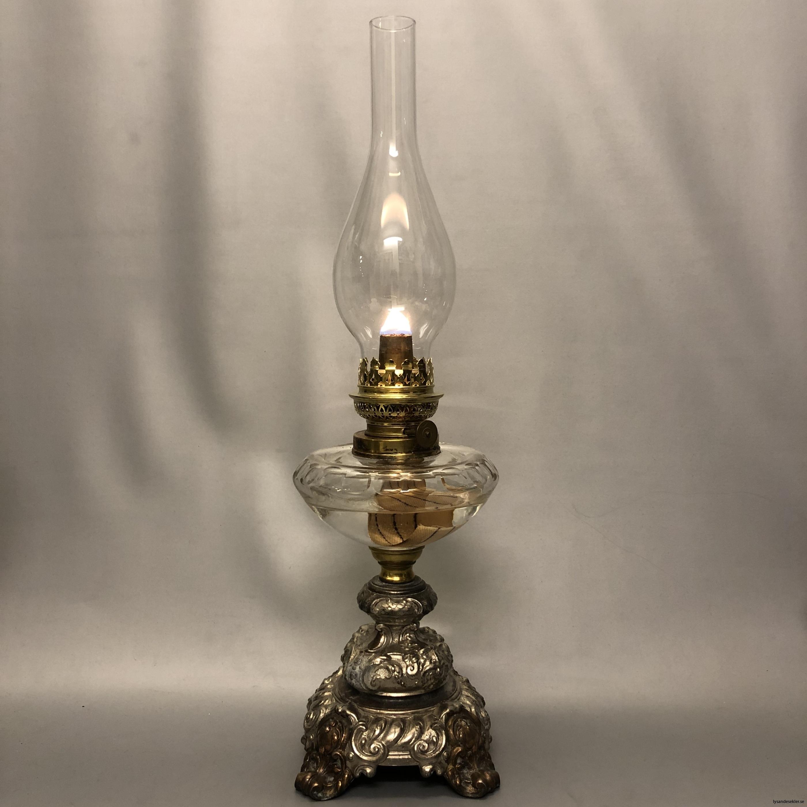 lökformad 14''' lampglas till fotogenlampa1