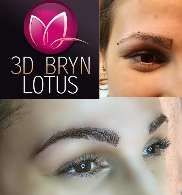 3D Ögonbryn tatuering