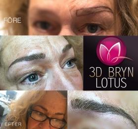 3D ögonbryn Värnamo