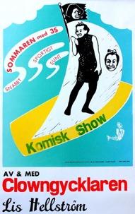 "affich av Thomas Hallon Hallbert till ""Sommaren m.3S"""