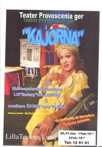 "affich till ""Kajorna"" A3"