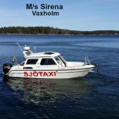 Vaxholm Båttaxi Taxibåt- M/s Sirena- 8 Pers.