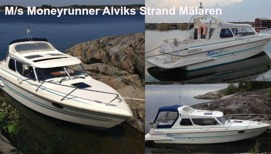M/s Moneyrunner - Stockholm Watertaxi Taxiboat Seacab service