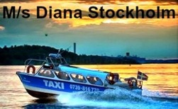 M/s Diana - Stockholm Watertaxi Taxiboat Seacab service