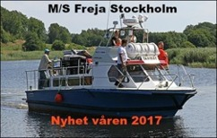 M/s Freja - Stockholm Watertaxi Taxiboat seacab service
