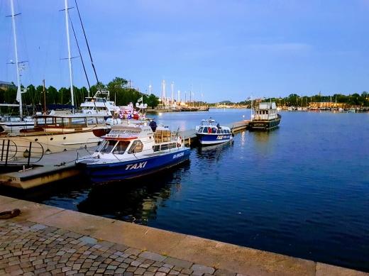 Gustafs Taxibåtar Strandvägen Kajplats 21