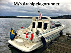 Taxibåt-Båttaxi-sjötaxi  M/s Archipelagorunner Stockholm