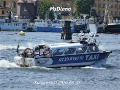 MsDiana båttaxi taxibåt sjötaxi stockholm