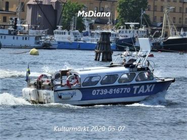 taxibåt Båttaxi sjötaxi  M/s Diana