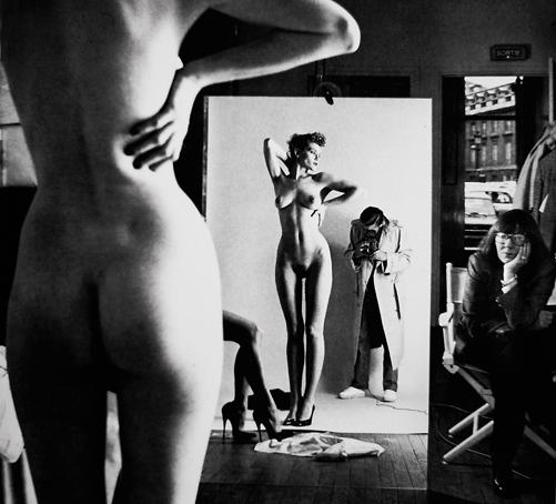 Originalfoto av Helmut Newton