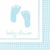 Servetter Baby boy 16-pack