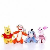 Nalle Puh och hans vänner, gosedjur 20 cm. Disney