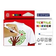 Textilpennor, 6 st