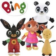 Bing med vänner, gosedjur 2-pack