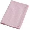 Blöjtårta- Storksäck, Storkbundle - Storksäck med flanellfilt rosa stjärnor