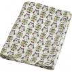 Blöjtårta- Storksäck, Storkbundle - Storksäck med Kids Concept Flanellfilt Pumpkin grön ugglor