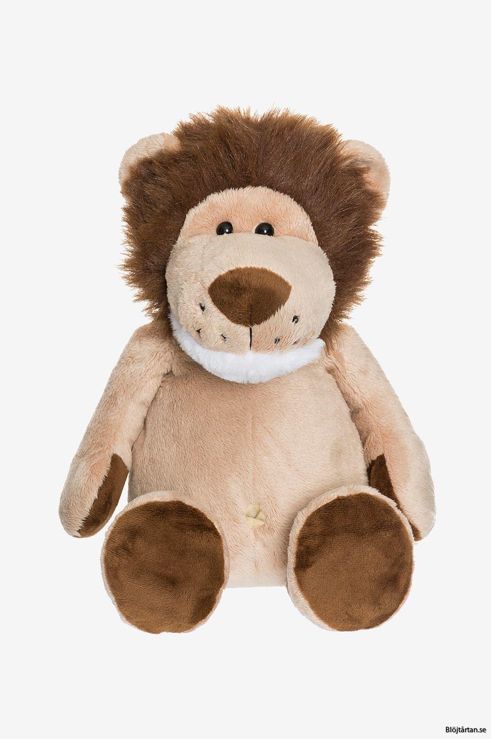 Gosedjur Lejon 30cm teddykompaniet