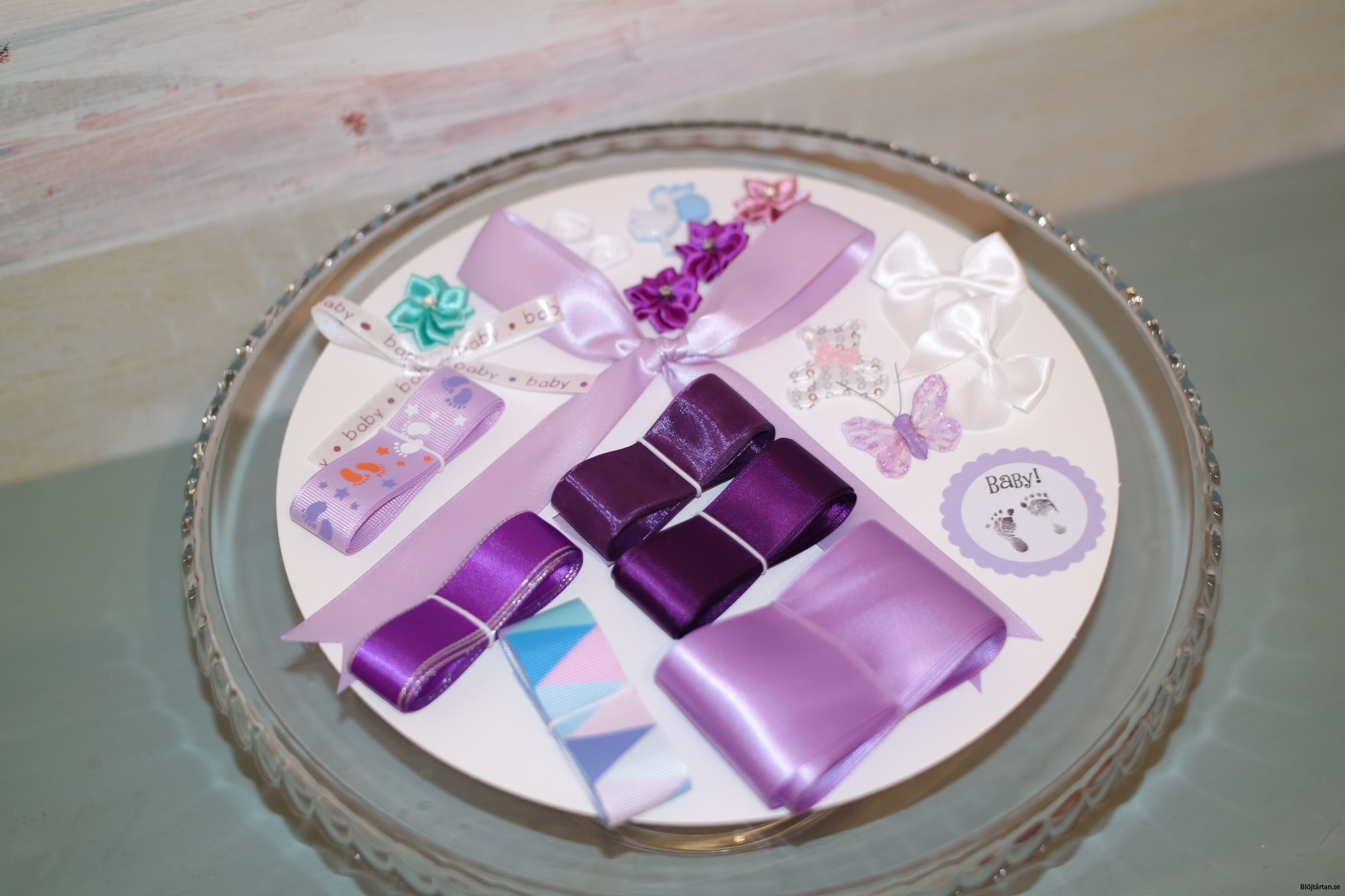 innehåll lila/pastell kit