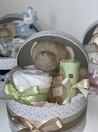 NYHET: BABYBOX, en presentbox till babyn - Neutral babybox