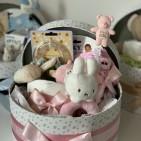 NYHET: BABYBOX, en presentbox till babyn - Rosa babybox