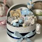 NYHET: BABYBOX, en presentbox till babyn - Blå babybox