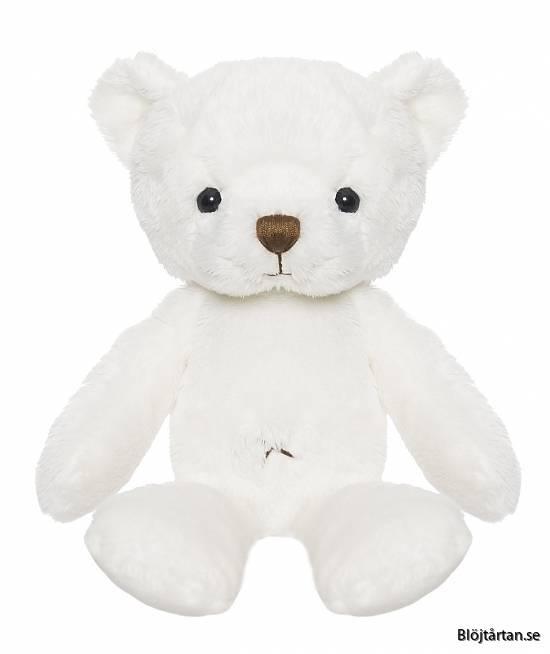 Vit nalle Teddykompaniet