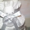 Miffy grå blöjtårta