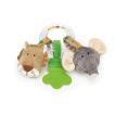 Present till babyn- Skallra Teddykompaniet Diinglisar wild