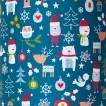 Present till babyn- Diinglisar friends paket med katt, kanin, ko och mus - Diinglisar friends inslagna i presentpapper som julklapp +20kr