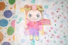 Present till babyn- Mjuk docka Ingrid, Teddykompaniet