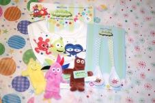 Present till babyn- Babblarna paket