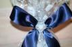 Blå blöjtårta 3 vån