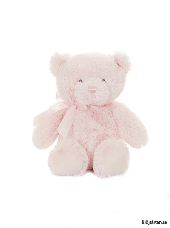 Rosa nalle teddy baby Teddykompaniet