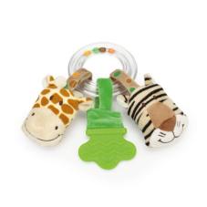 Skallra Teddykompaniet Diinglisar wild, giraff och tiger