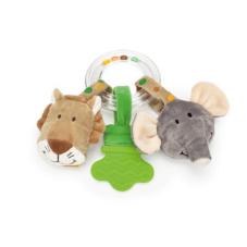 Skallra Teddykompaniet Diinglisar wild, lejon och elefant