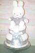 Miffy grå blöjtårta (leverans inom 2 veckor)