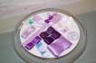 Blöjtårtan.se's tårtmix- tillsätt bara blöjor! VIT/SILVER/LILA - LILA Neutralt kit, gör din egen blöjtårta, blöjtårts-kit