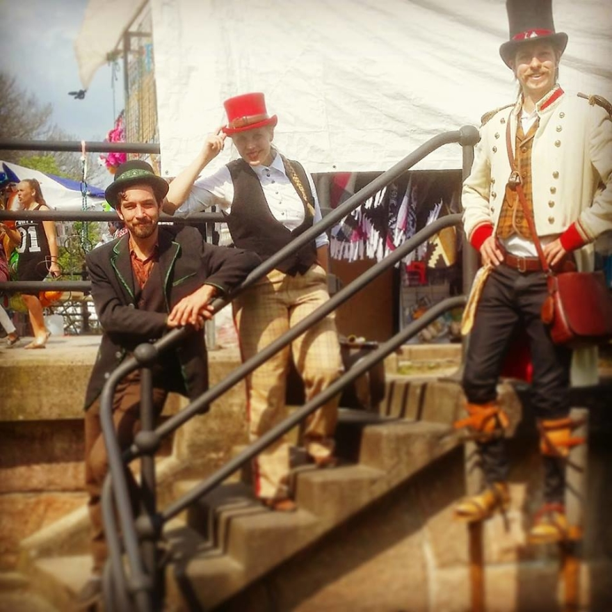 Varieté Vagant på Värnamo karneval