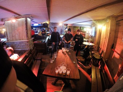 Beerpong i Sestriere (2015)