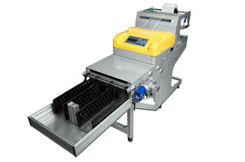 Baggy påstillverkningsmaskin med stacker