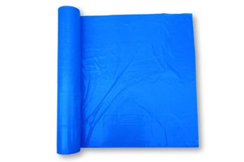 Dekorfilm - PE-VINKELFILM 1000/1000mm x 0.04mm blå