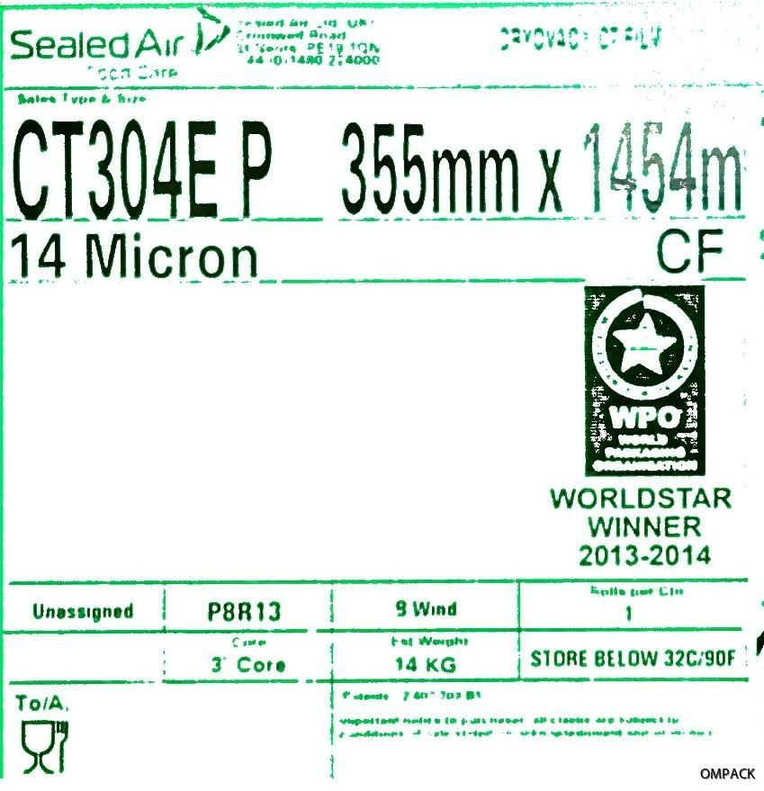CT304E P 355 mm x 0,014 mm x 1454 m