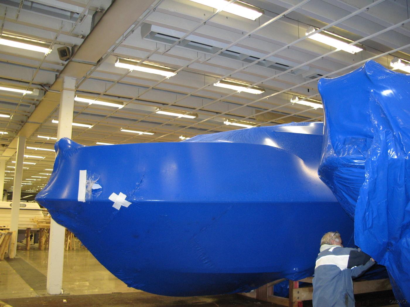 Tejpad båt