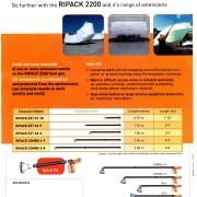 Förlängningsrör för Ripack 3000