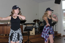 Dansunderhållning av elever