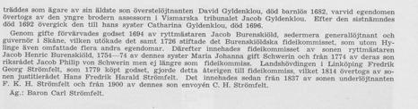 Hylinge Säteri ur Svenska Gods och Gårdar 1939