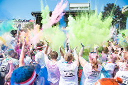 The Color Run 2017. Foto: BAAAM