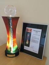 Pris för Årets Innovation 2014 för konstruktionen av ILS 1K