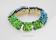 Armband ljusgrön krussidull